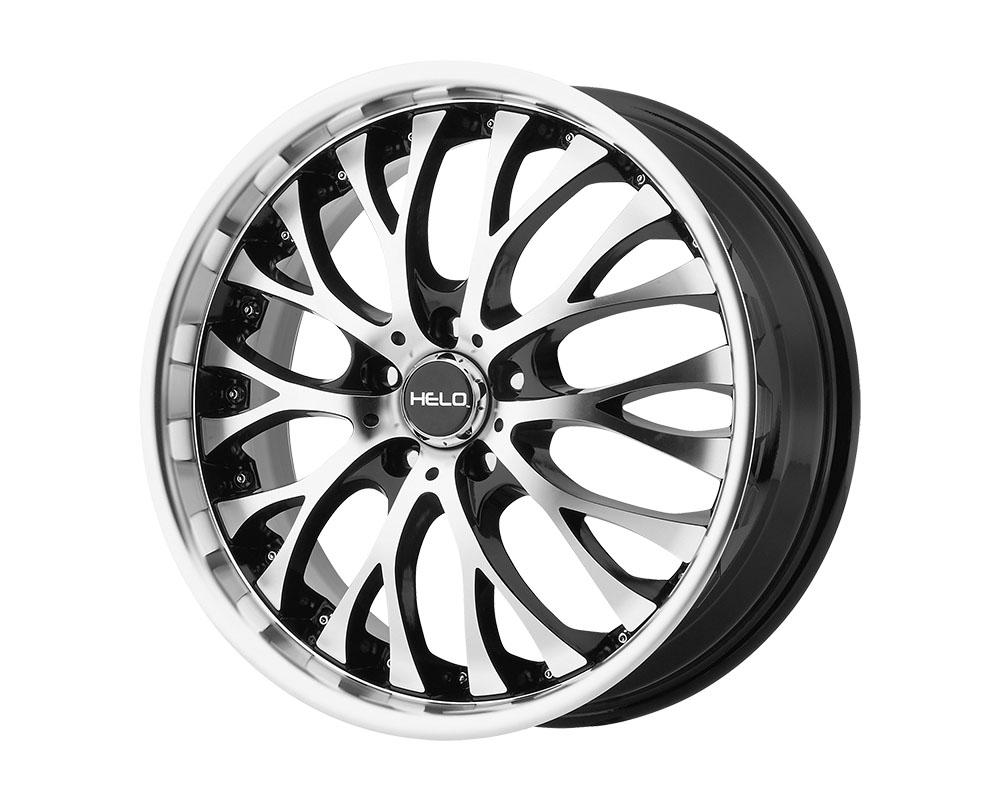 Helo HE890 Wheel 20x8.5 5x5x115 +35mm Gloss Black Machined Face