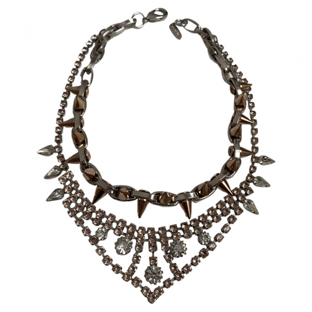 Joomi Lim - Collier   pour femme en acier - metallise