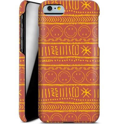 Apple iPhone 6s Smartphone Huelle - Tribal Orange von Smiley®