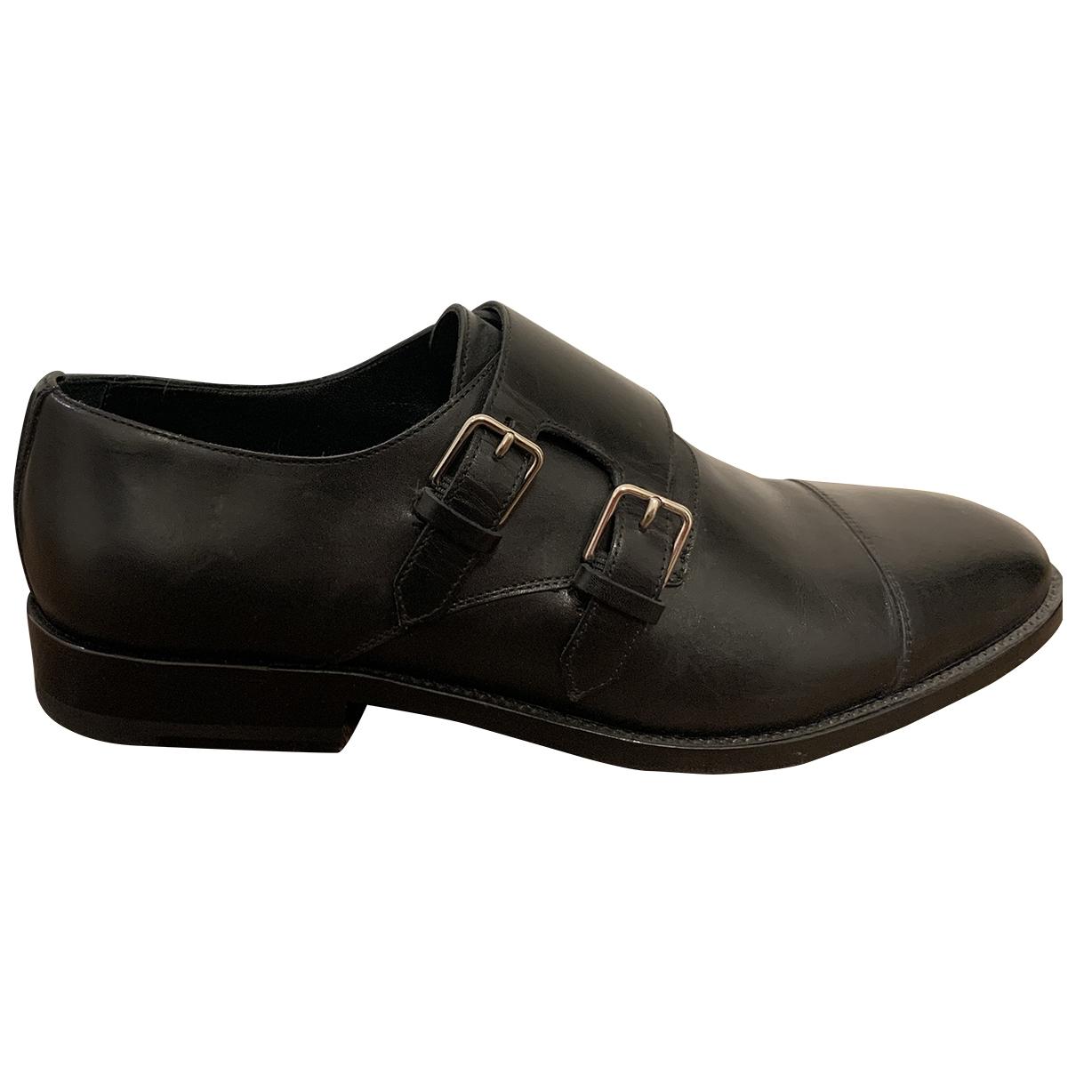 Saint Laurent - Derbies   pour femme en cuir - noir