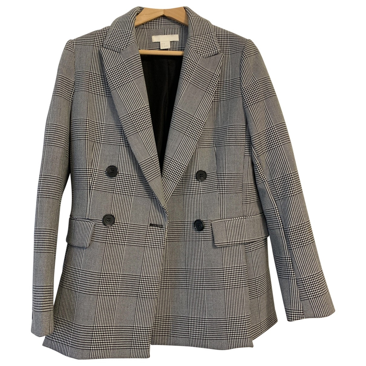 Mango \N Grey Wool jacket for Women 36 IT