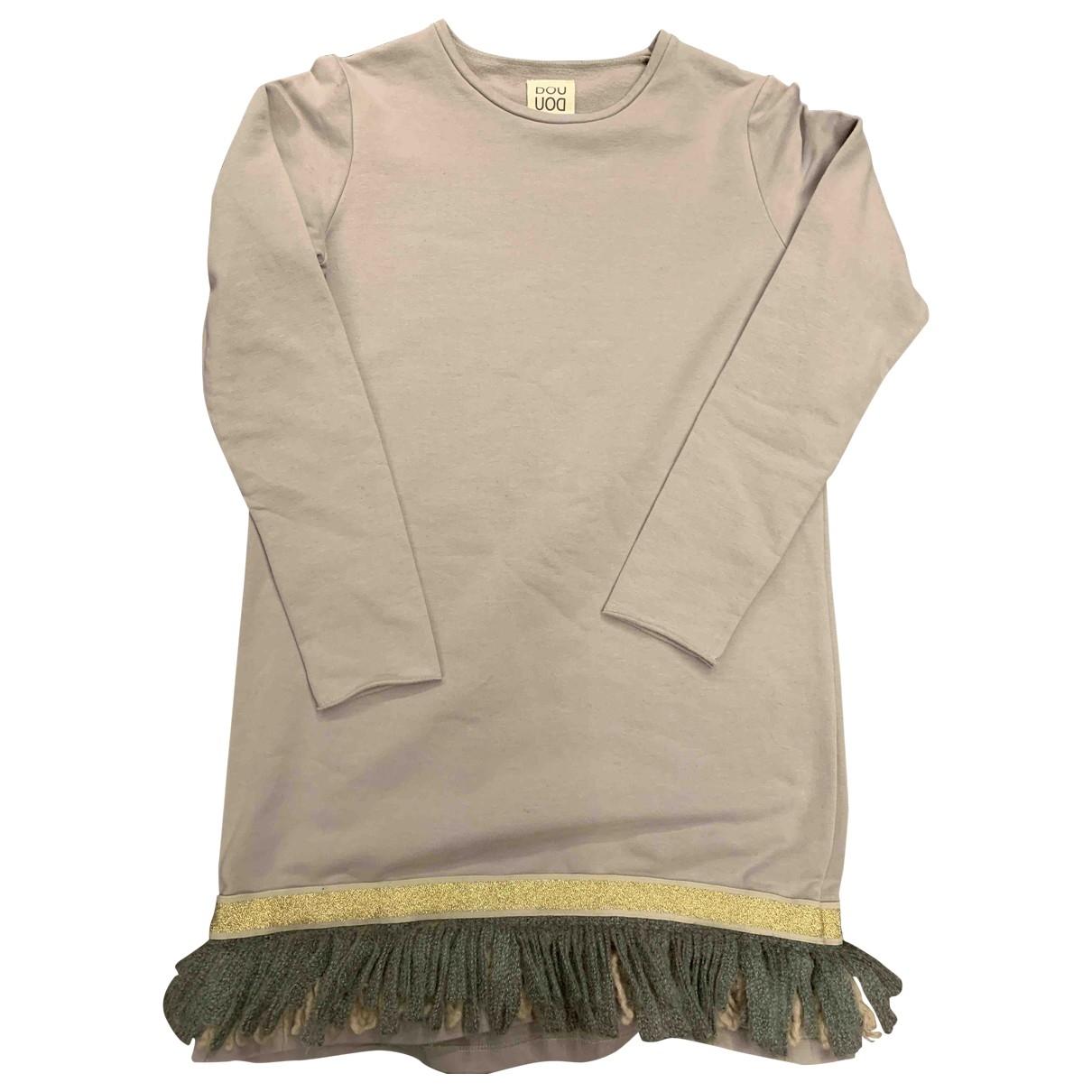 Douuod - Robe    pour enfant en coton - rose