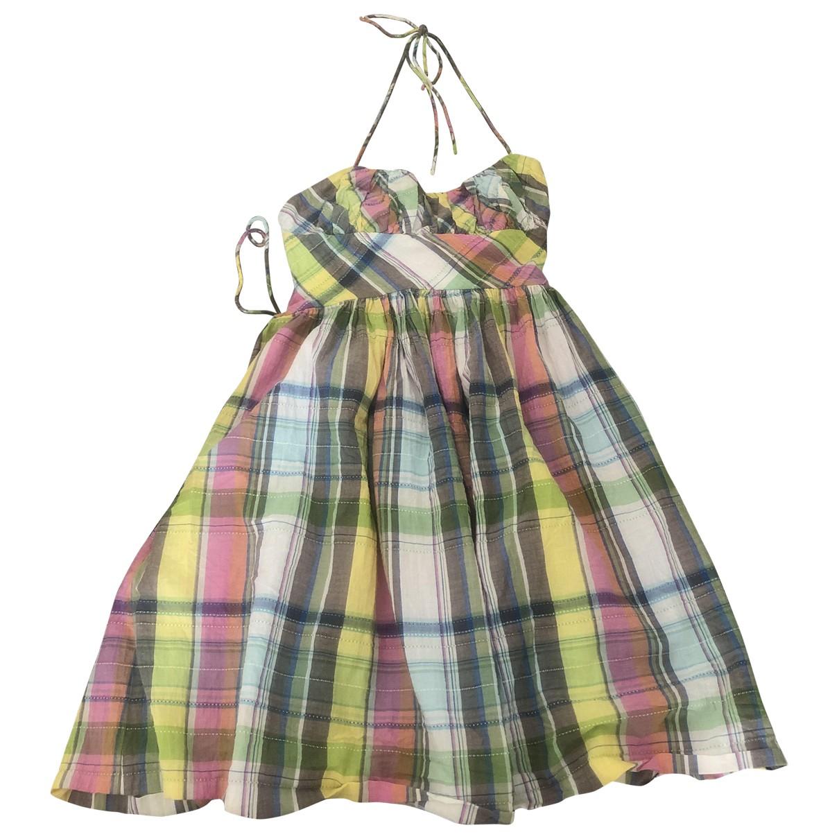 Tibi \N Kleid in  Bunt Baumwolle