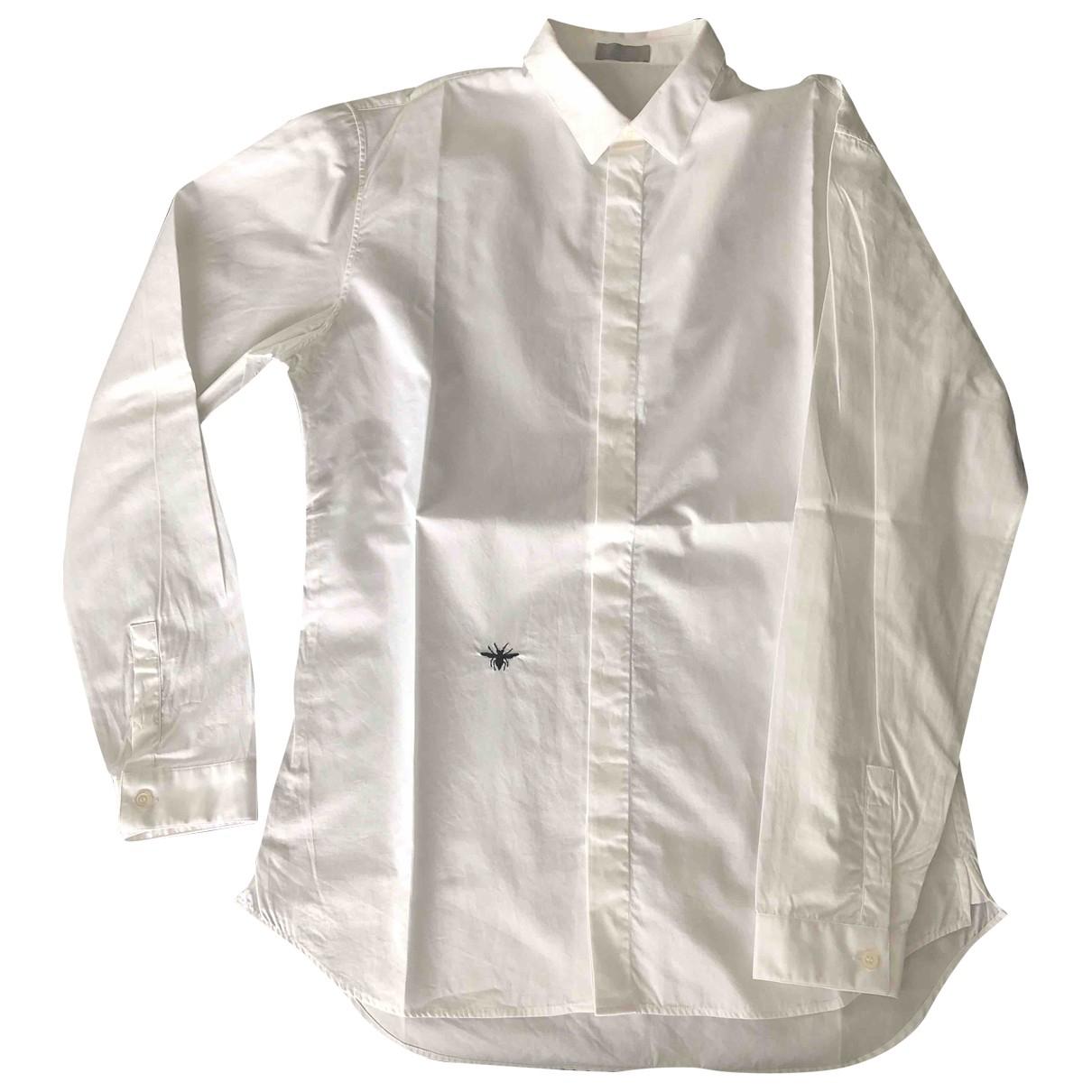 Dior - Chemises   pour homme en coton - blanc