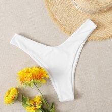 Bikini Hoschen mit hohem Beinschnitt