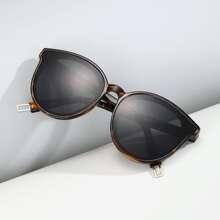 Maenner Sonnenbrille mit Schildpatt Rahmen