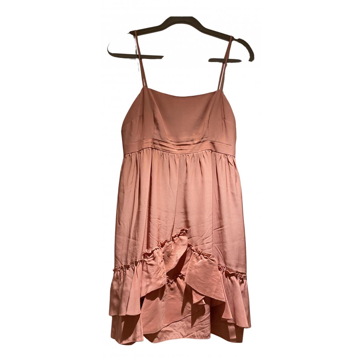 Juicy Couture \N Kleid in  Rosa Seide