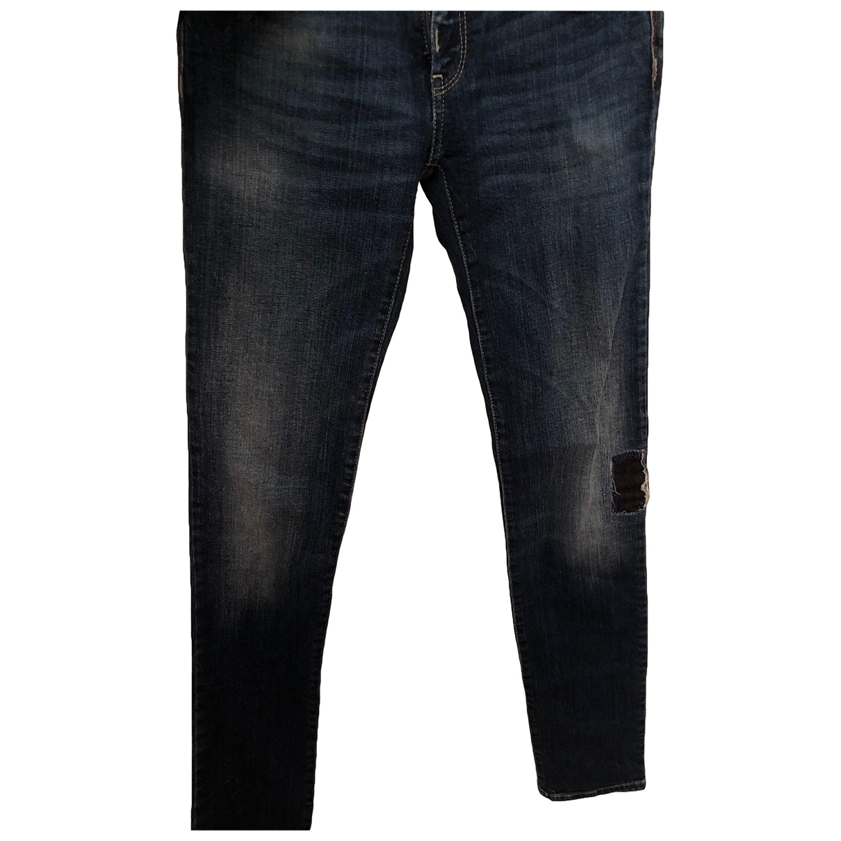 Armani Jeans \N Blue Denim - Jeans Jeans for Women 24 US