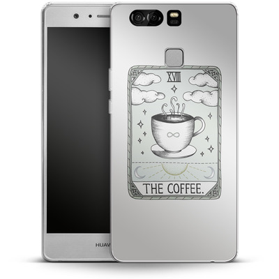Huawei P9 Silikon Handyhuelle - The Coffee von Barlena