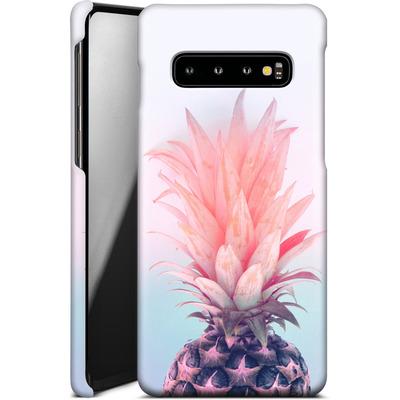 Samsung Galaxy S10 Smartphone Huelle - Pastel Pineapple von Emanuela Carratoni