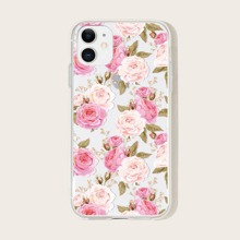 iPhone Huelle mit Rose Muster