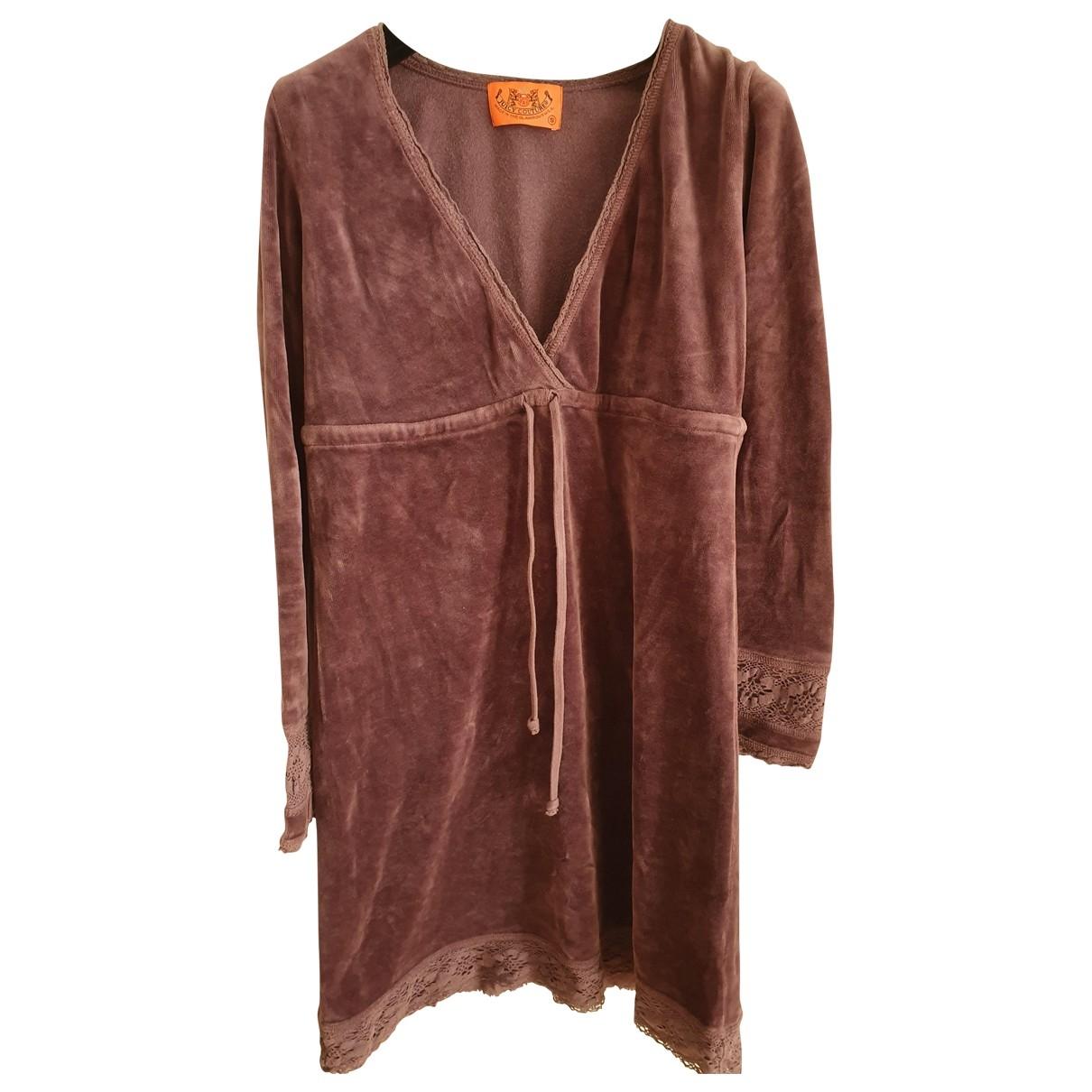 Juicy Couture \N Kleid in  Lila Baumwolle