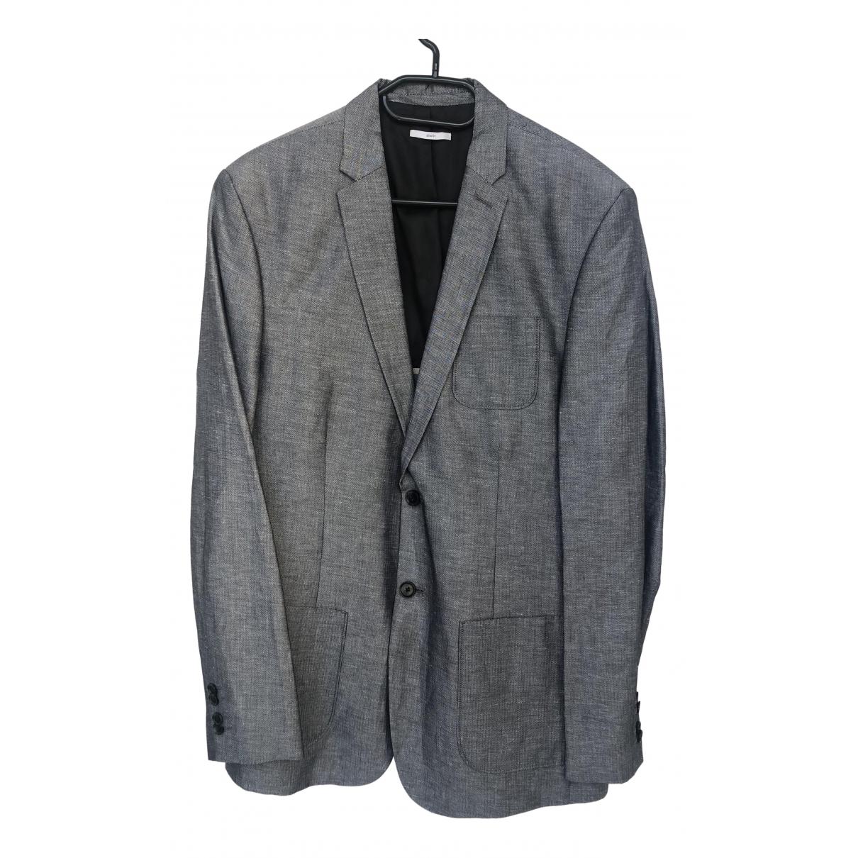 Calvin Klein N Grey Linen jacket  for Men L International