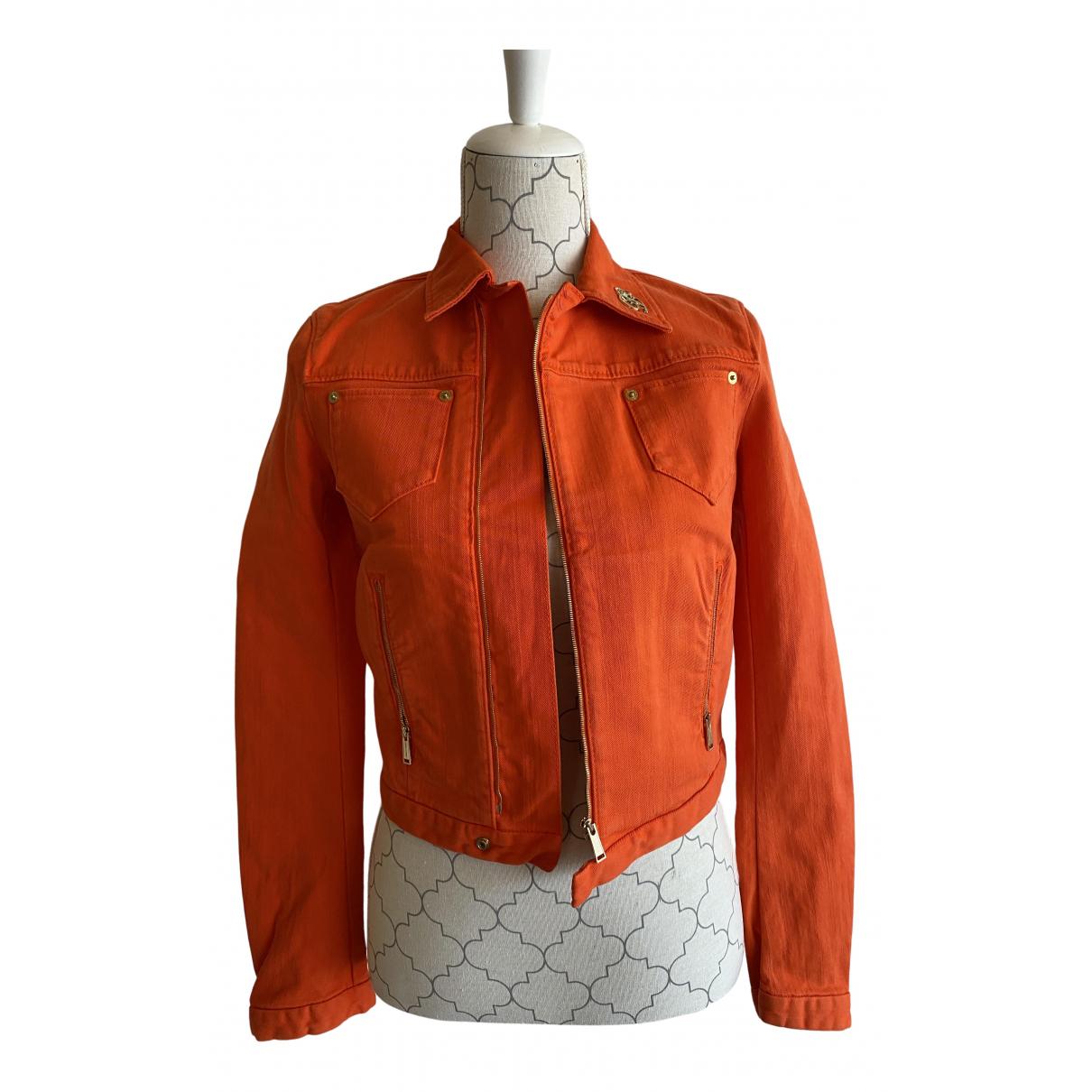 Dsquared2 - Veste   pour femme en denim - orange