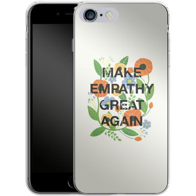 Apple iPhone 6s Plus Silikon Handyhuelle - Make Empathy Great Again von Iisa Monttinen