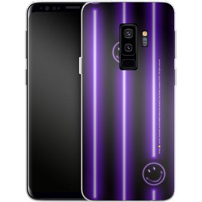 Samsung Galaxy S9 Plus Silikon Handyhuelle - Electro Nights von Smiley®