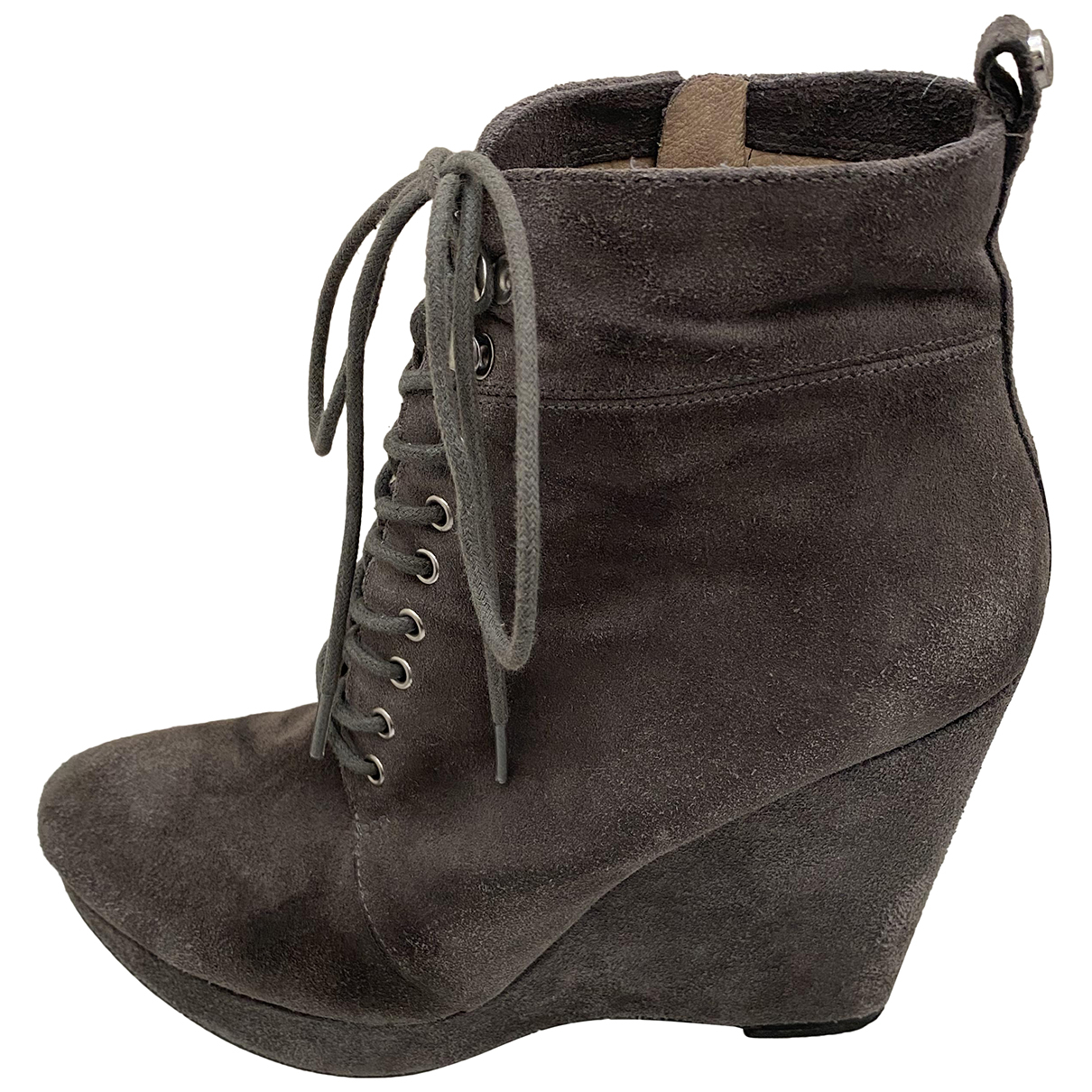 Michael Michael Kors N Grey Suede Ankle boots for Women 9 US