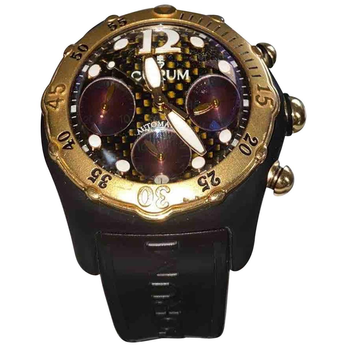 Relojes Bubble de Oro amarillo Corum