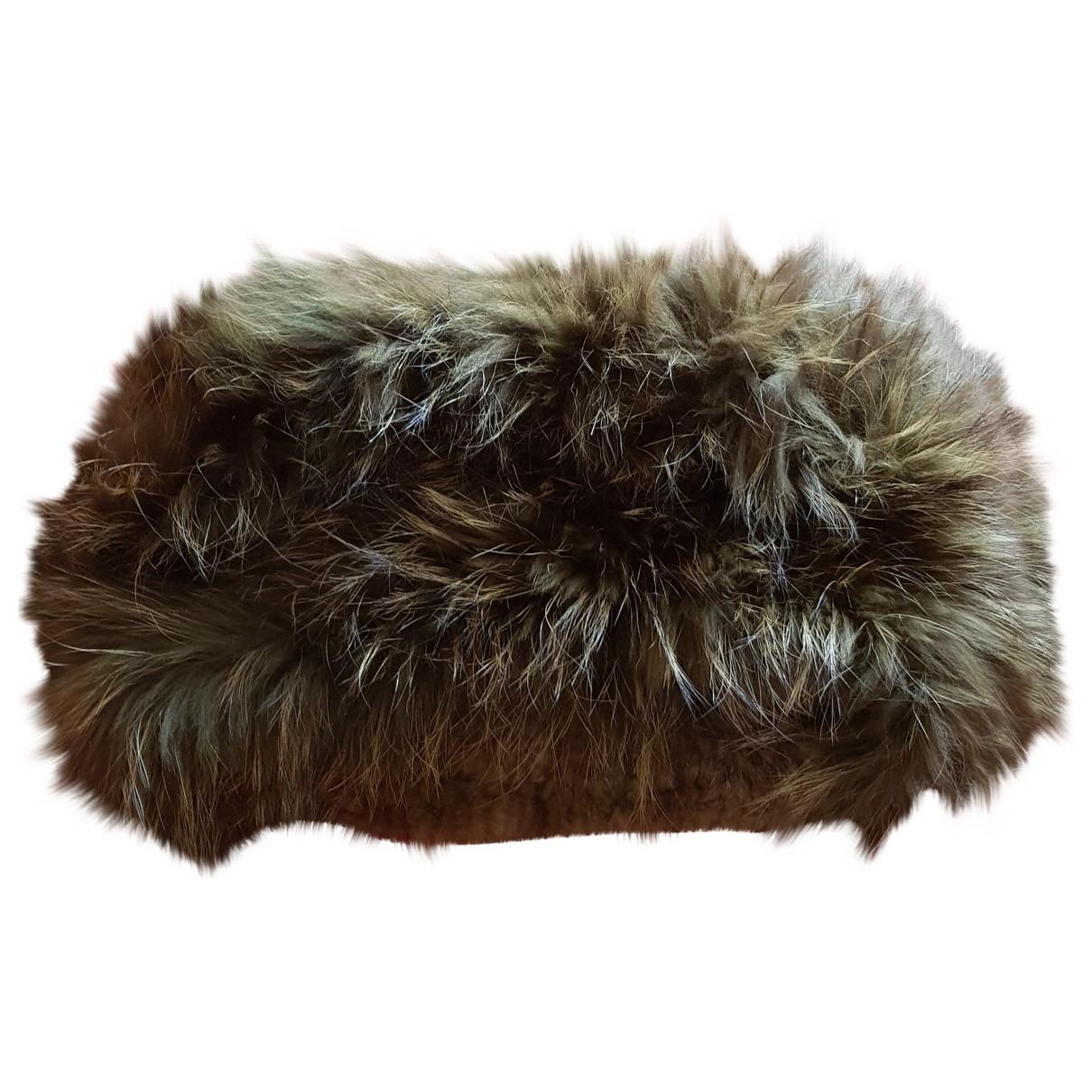 - Foulard   pour femme en racoon - vert