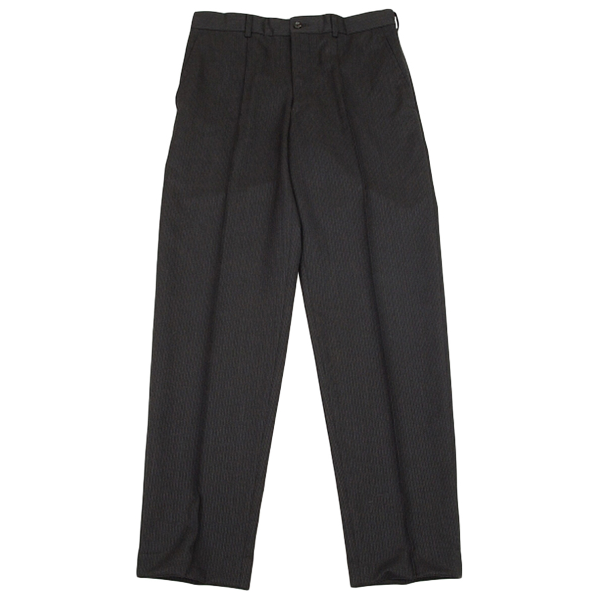 Comme Des Garcons \N Anthracite Wool Trousers for Men 30 UK - US