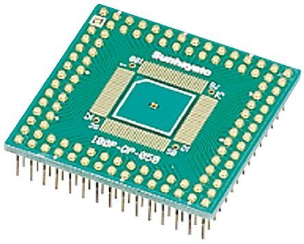 Sunhayato 100P-QP-050, 100 Way Extender Board Adapter Conversion Adapter FR4 40.64 x 40.64 x 1.6mm