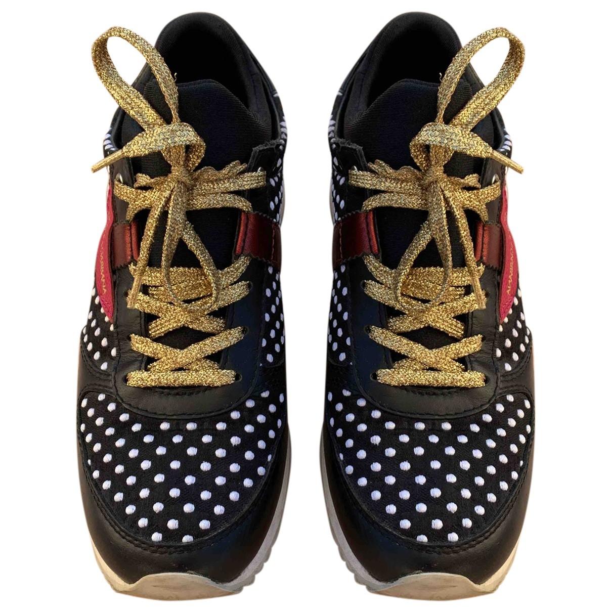 Dolce & Gabbana - Baskets   pour femme en cuir - multicolore