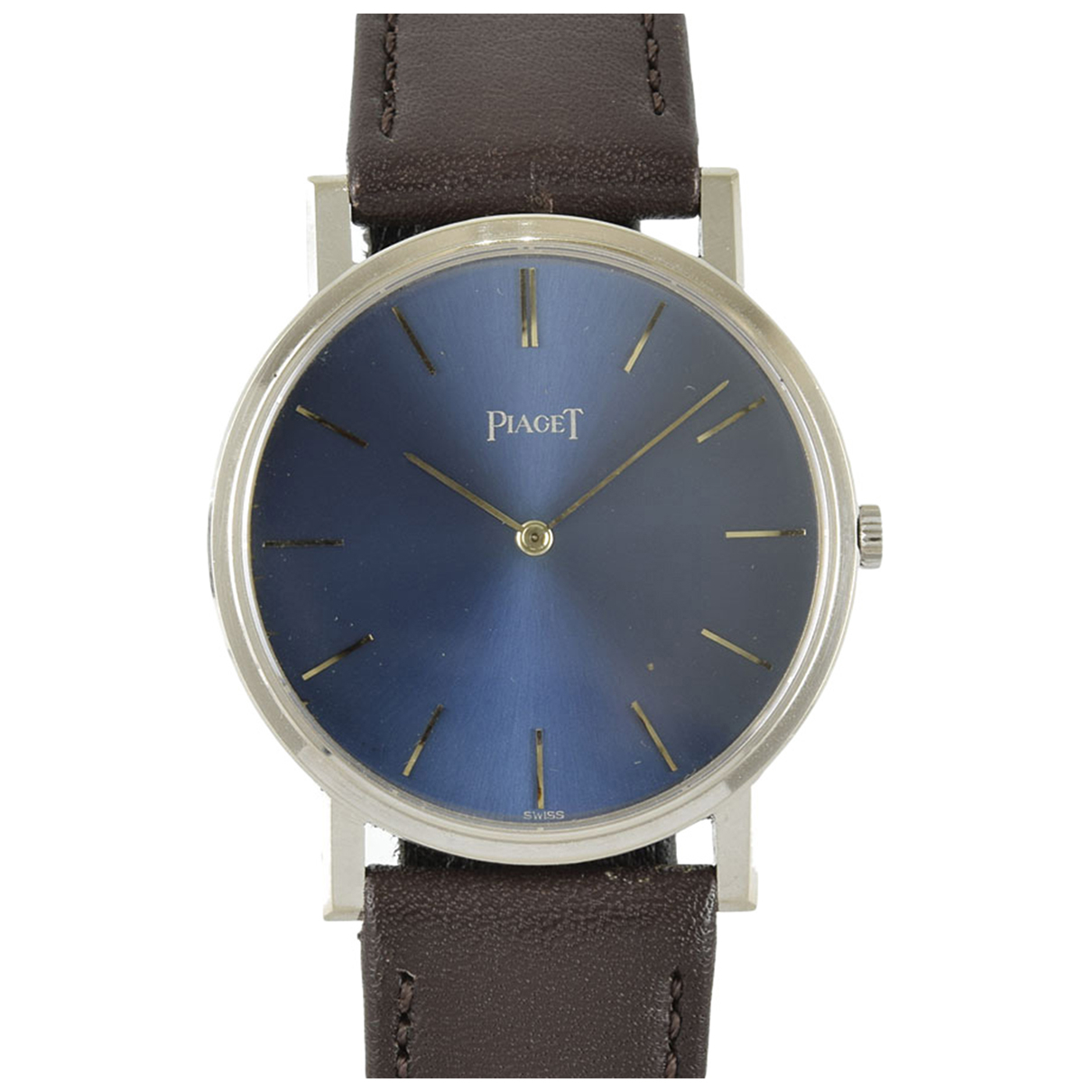 Piaget N Blue White gold watch for Men N
