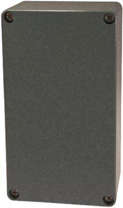 Fibox Euronord, Natural Aluminium Enclosure, IP66, IP67, IP68, 224 x 125 x 81mm