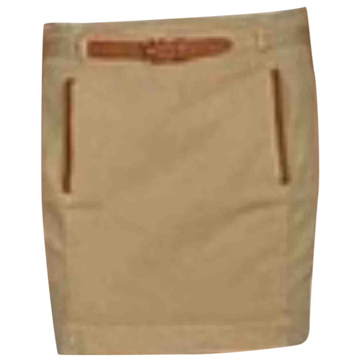 Ralph Lauren - Jupe   pour femme en coton - beige