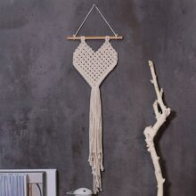 1pc Heart Braided Wall Hanging