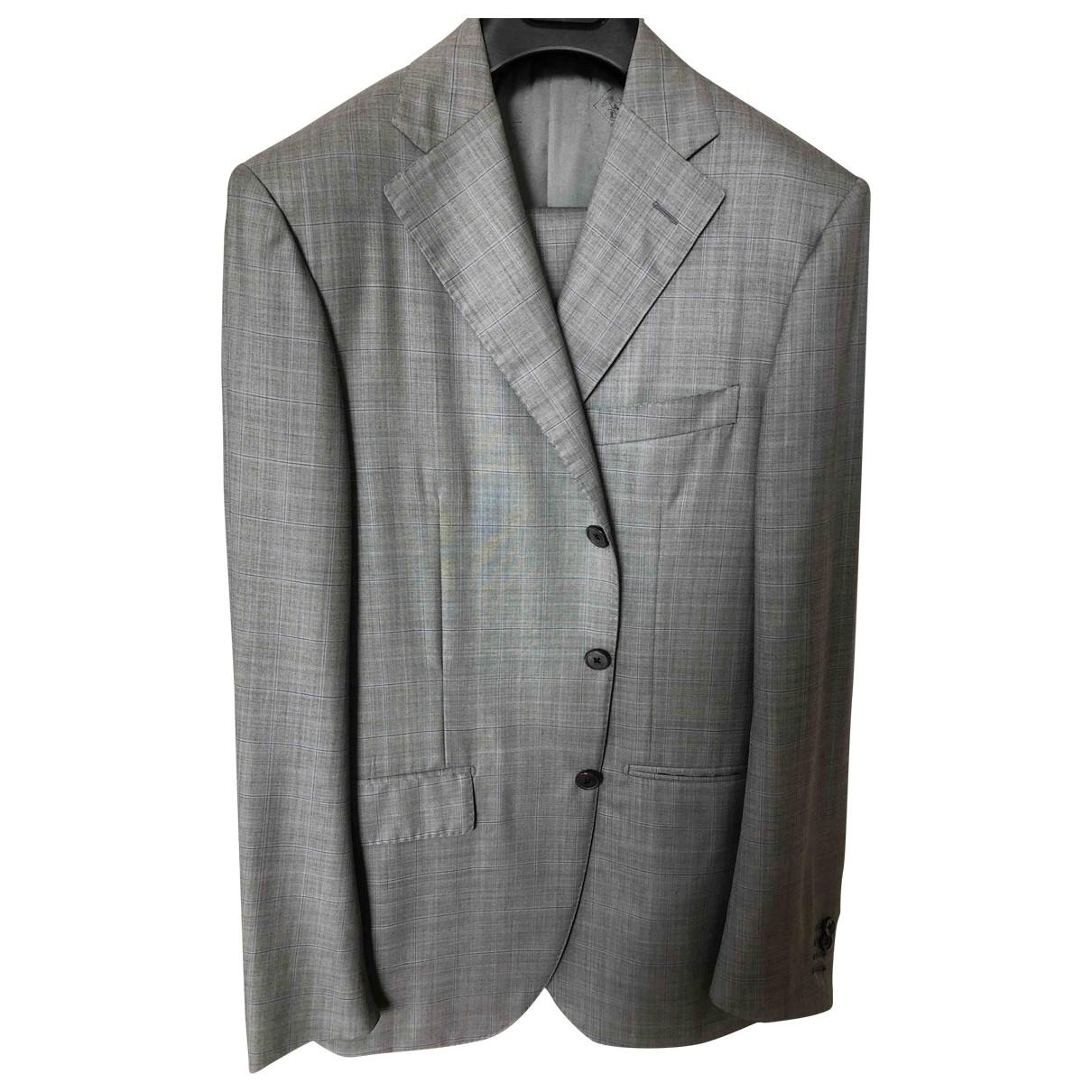 Corneliani - Costumes   pour homme en laine - gris