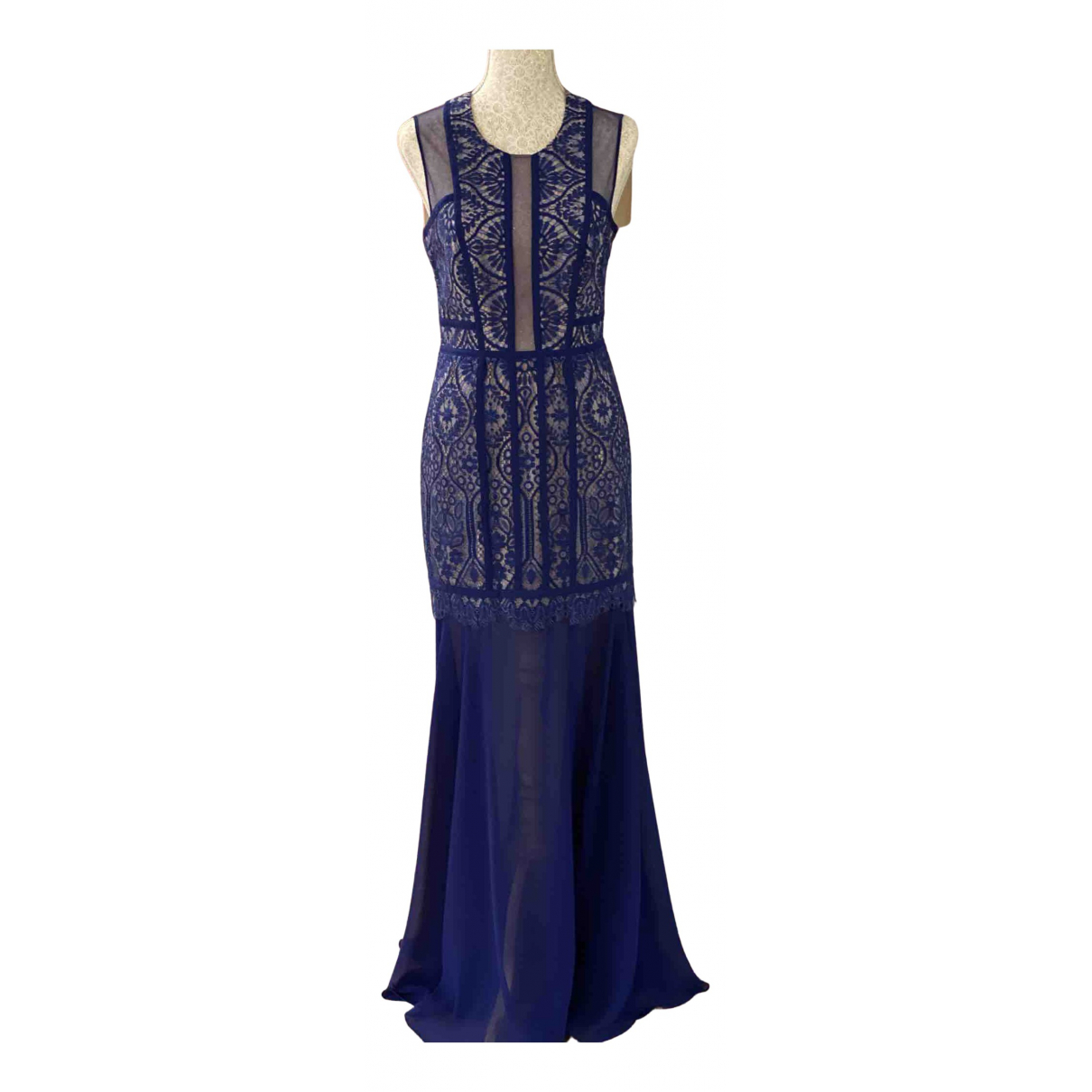 Maxi vestido de Seda Bcbg Max Azria
