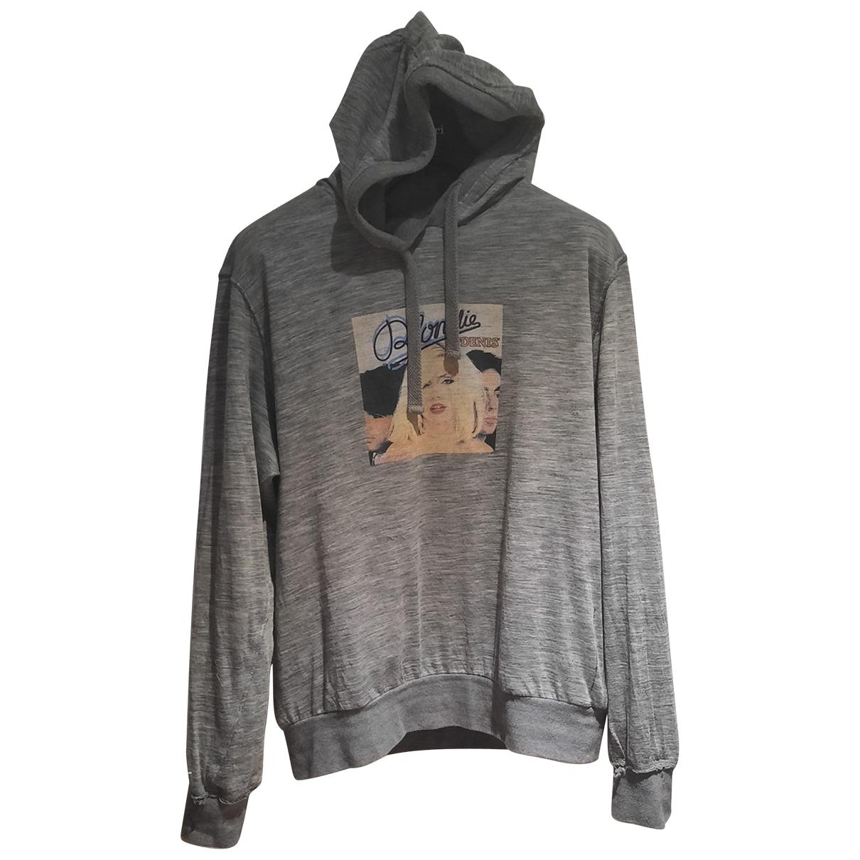 Dolce & Gabbana \N Pullover.Westen.Sweatshirts  in  Grau Wolle