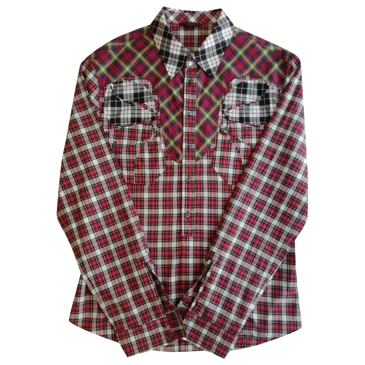 Roberto Cavalli \N Hemden in  Rot Baumwolle