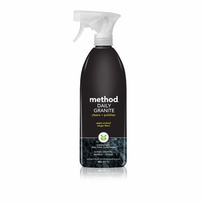Method Spray Spécialité Biodégradable 828ML - Nettoyant Quotidien De Granit, Verger Fleuri