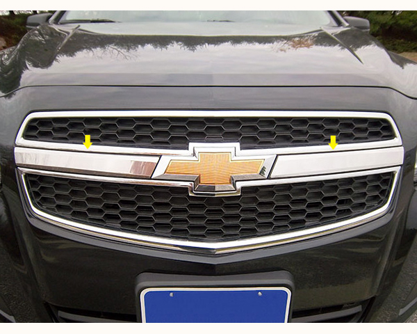 Quality Automotive Accessories Stainless Steel Grille Front Accent Trim Chevrolet Malibu 2014