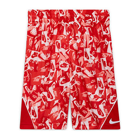 Nike Big Boys Pull-On Short, Large , Red