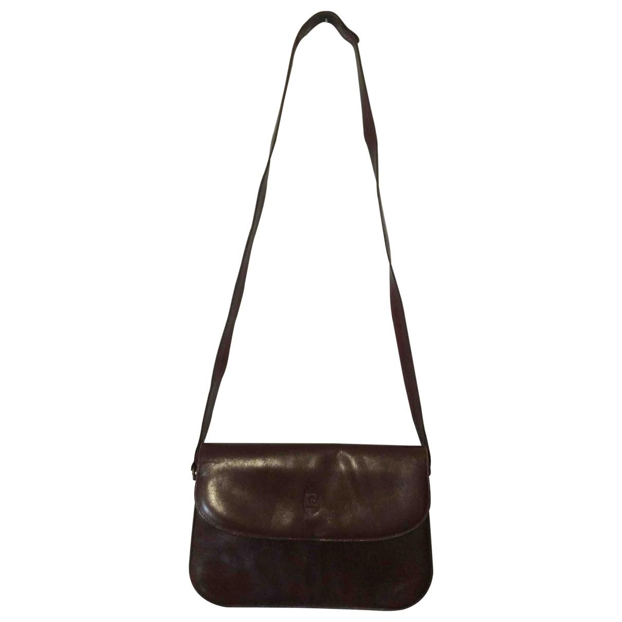 Pierre Cardin - Sac a main   pour femme en cuir - marron