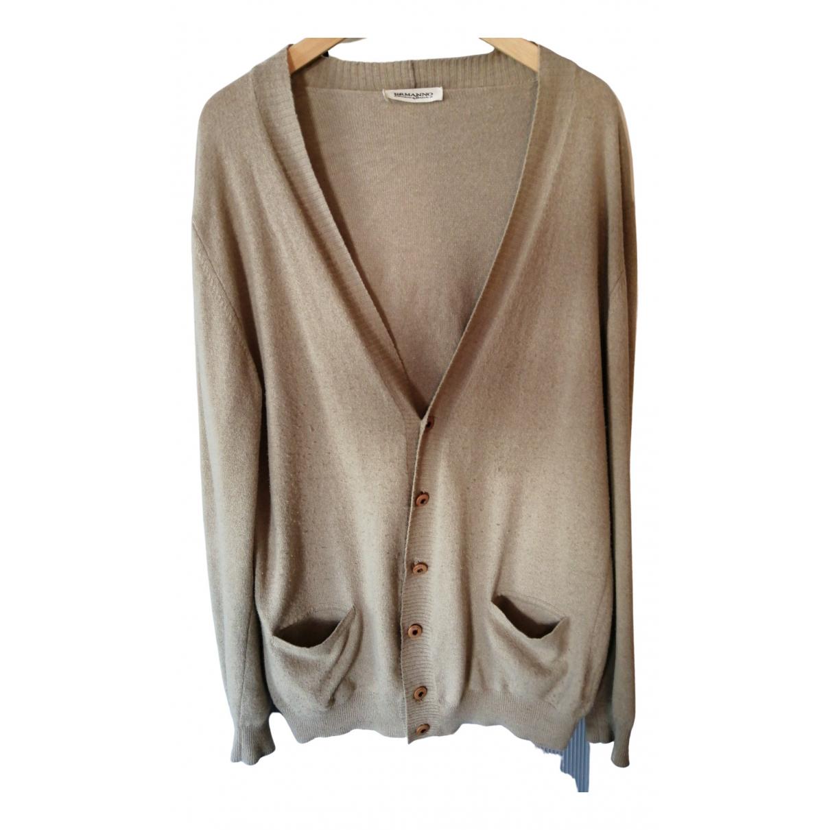Ermanno Scervino \N Beige Knitwear & Sweatshirts for Men 54 IT