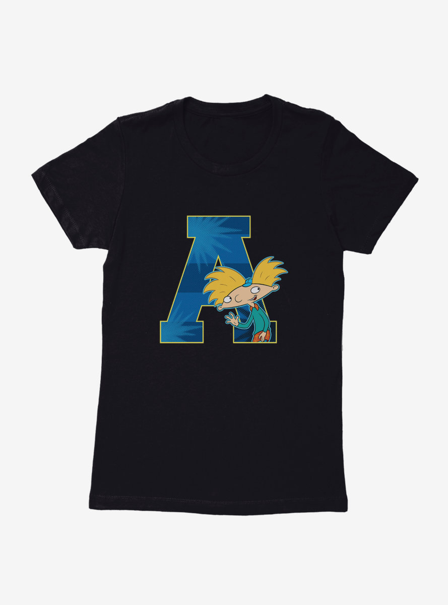 Hey Arnold! A For Arnold Womens T-Shirt