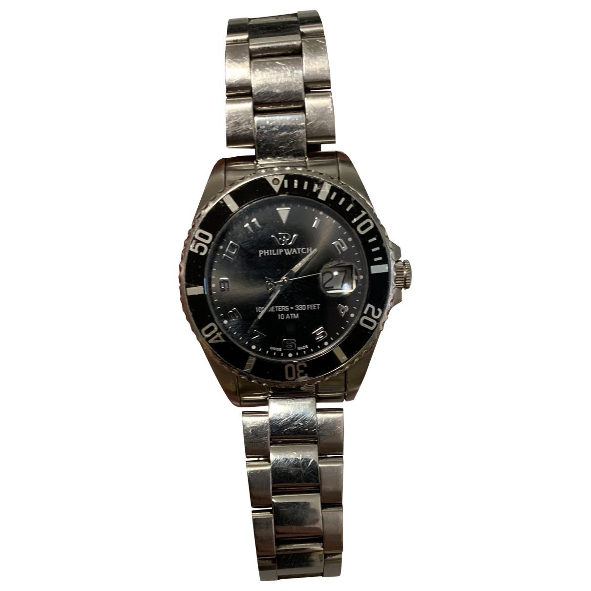 Philippe Watch \N Silver Steel watch for Men \N