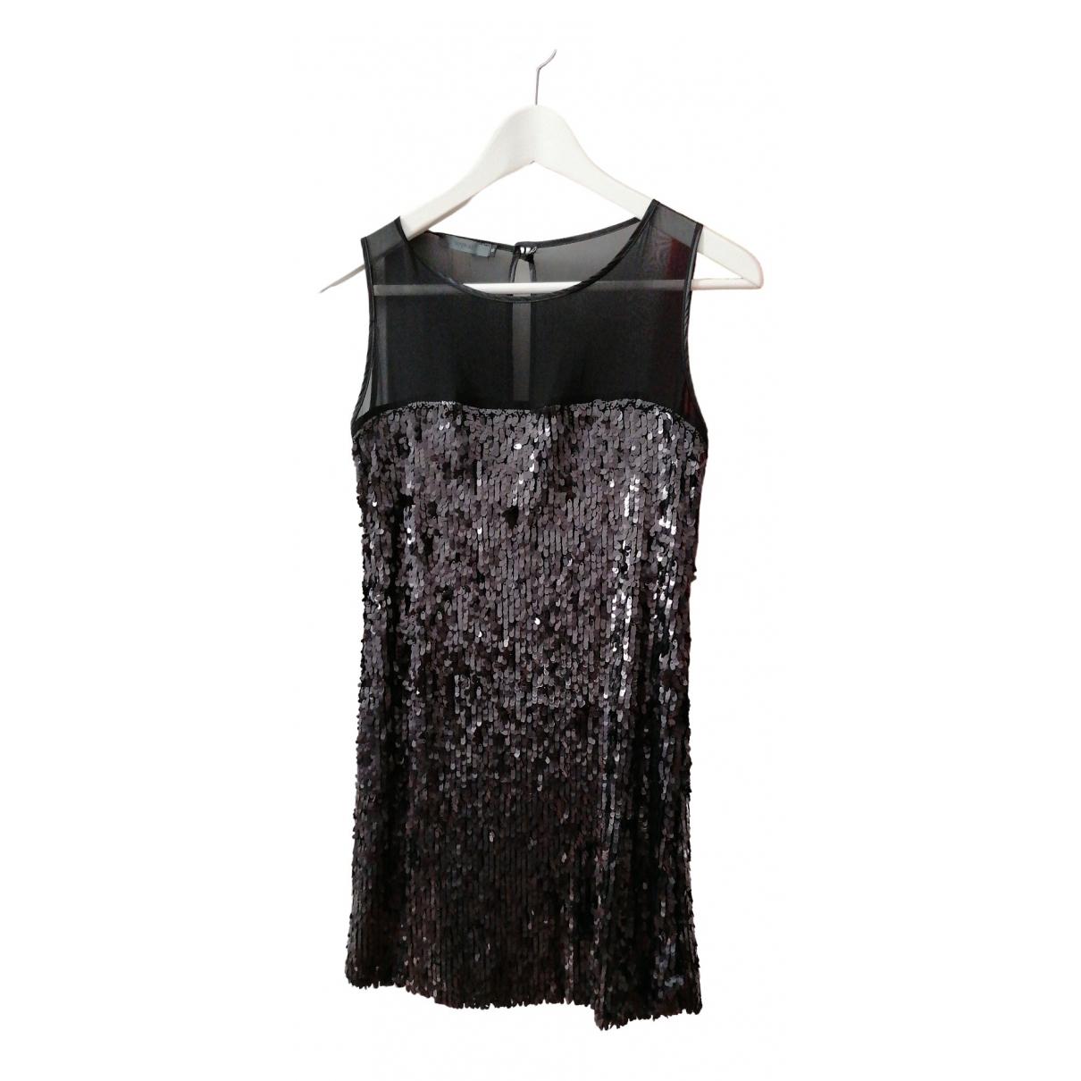 Imperial \N Kleid in  Schwarz Mit Pailletten