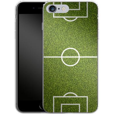 Apple iPhone 6s Plus Silikon Handyhuelle - Soccer Field von caseable Designs