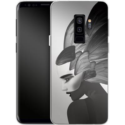 Samsung Galaxy S9 Plus Silikon Handyhuelle - Lady D von Mark Ashkenazi