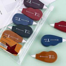 6 piezas set cinta de correccion mini