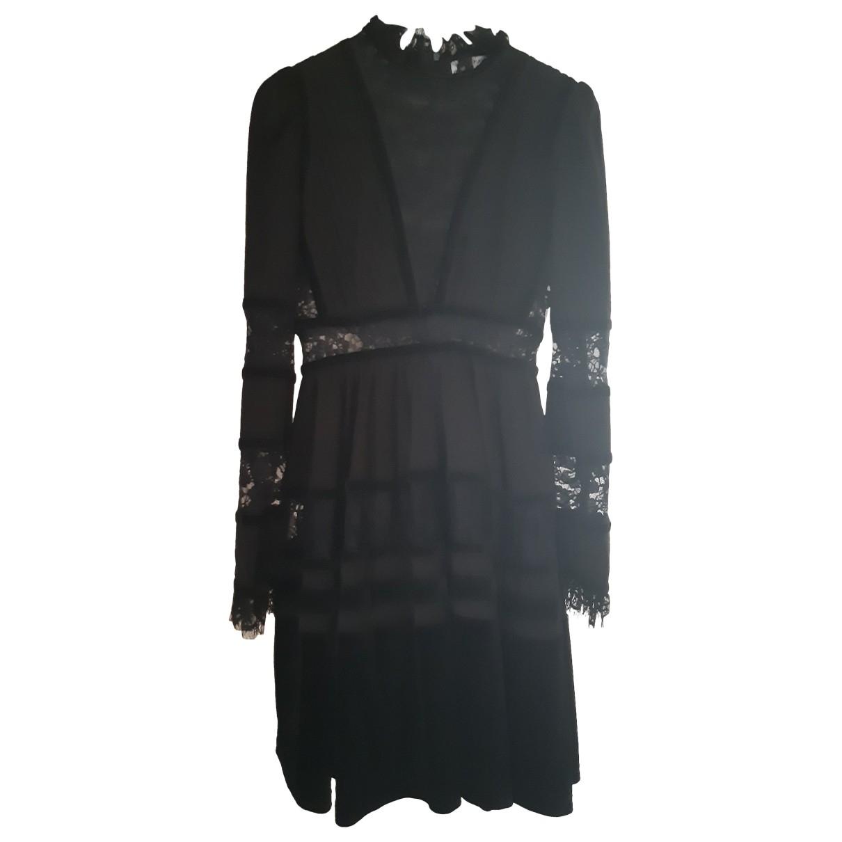 Non Signé / Unsigned \N Black Cotton dress for Women 42 IT