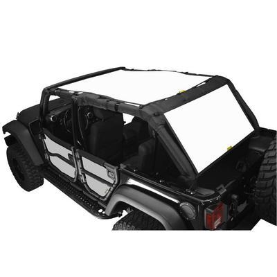 DirtyDog 4x4 Safari Sun Screen with Cargo Coverage (White) - J4SS07SCWH