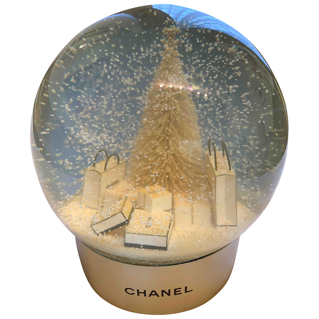 Chanel - Objets & Deco   pour lifestyle en verre - dore