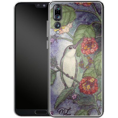 Huawei P20 Pro Silikon Handyhuelle - Mary Layton - Flying birds von TATE and CO