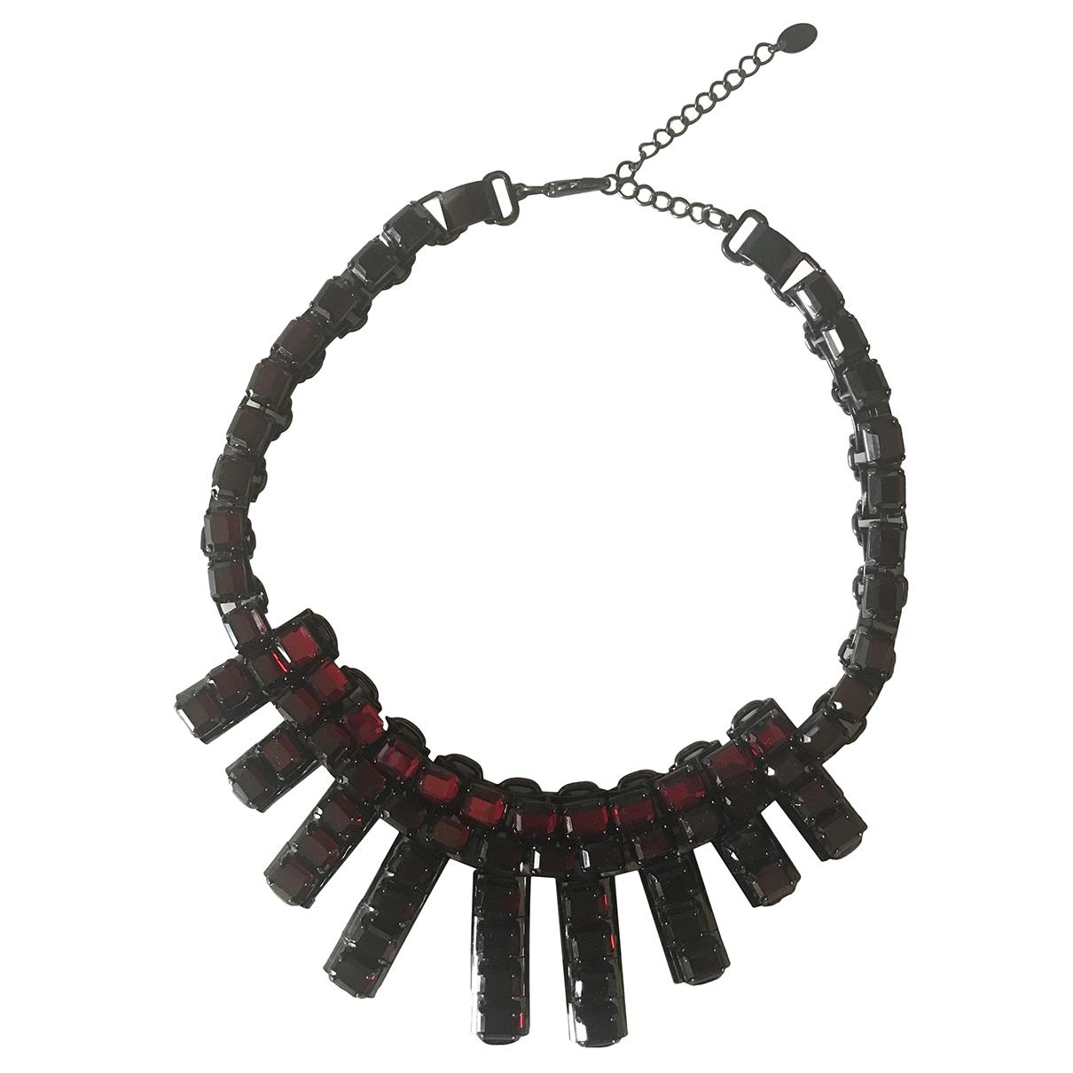 Zara - Collier   pour femme en metal - rouge